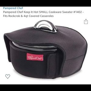 Pampered Chef Small Cookwear Sweater